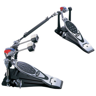 Pearl P-2002BL Eliminator Double Belt Pedal, Left Footed