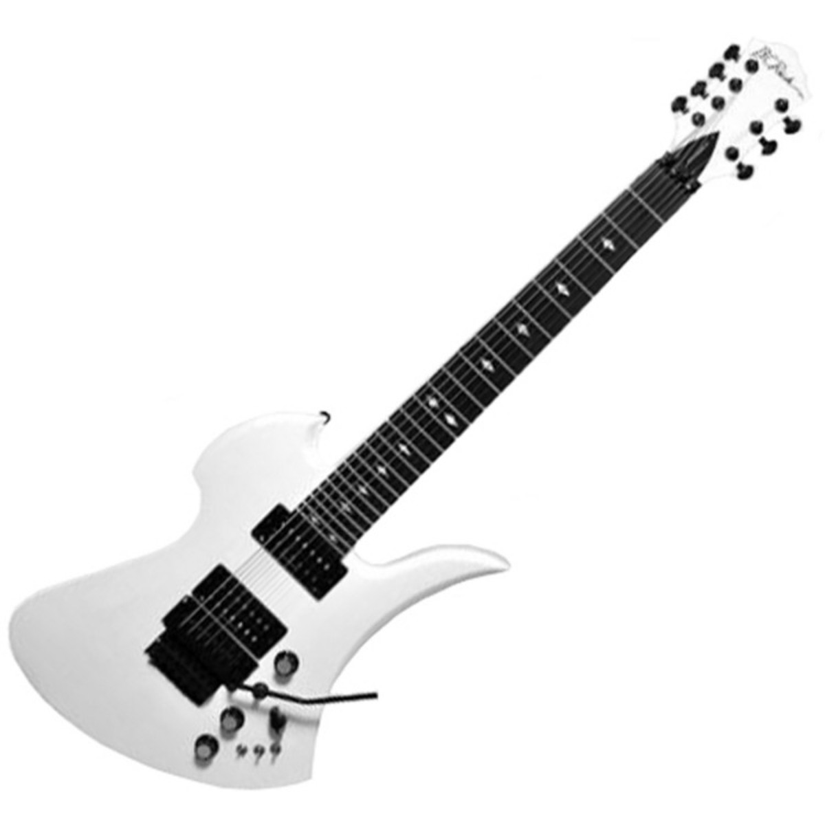 DISC BC Rich Mockingbird ST 7 String, Pearl White at ...