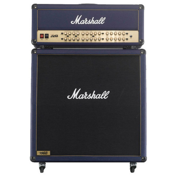 Marshall JVM410HJSB + 1960AJSB Joe Satriani Blue Half Stack - main