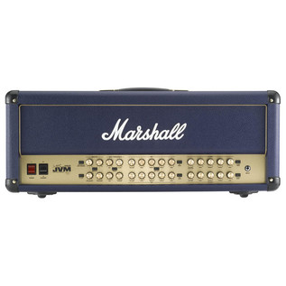 Marshall JVM410HJSB + 1960AJSB Joe Satriani Blue Half Stack - head