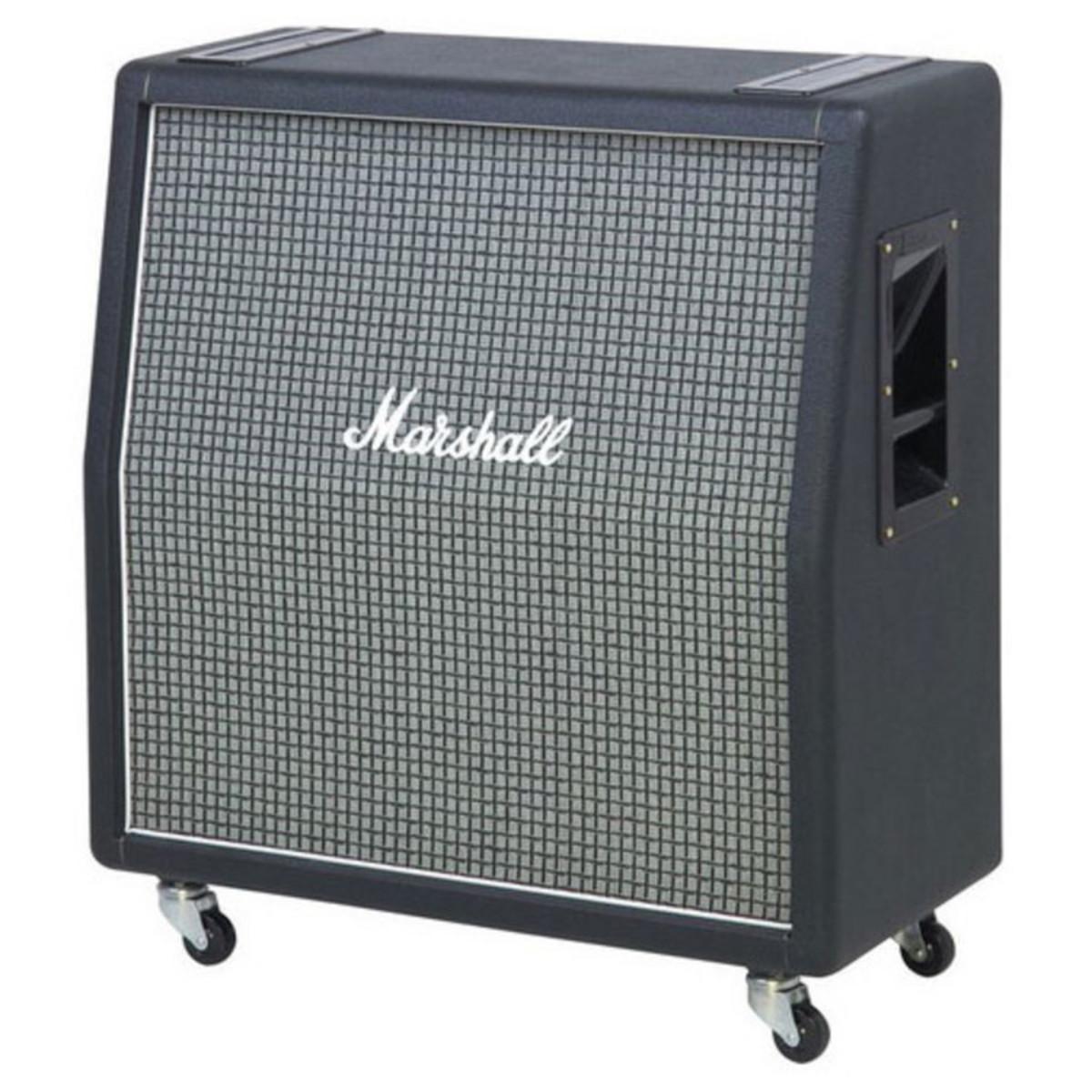 marshall 1960ax 4x12 quot angled speaker cab w celestion greenbacks at gear4music