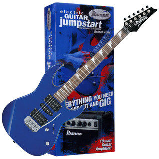 Ibanez GRX70 Jumpstart Electric Guitar Pack (Jewel Blue) - main