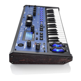 Novation MiniNova Synthesizer - side