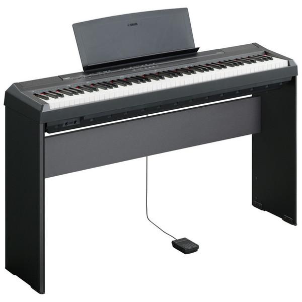 Yamaha P105B Digital Piano - Black (Image 2)