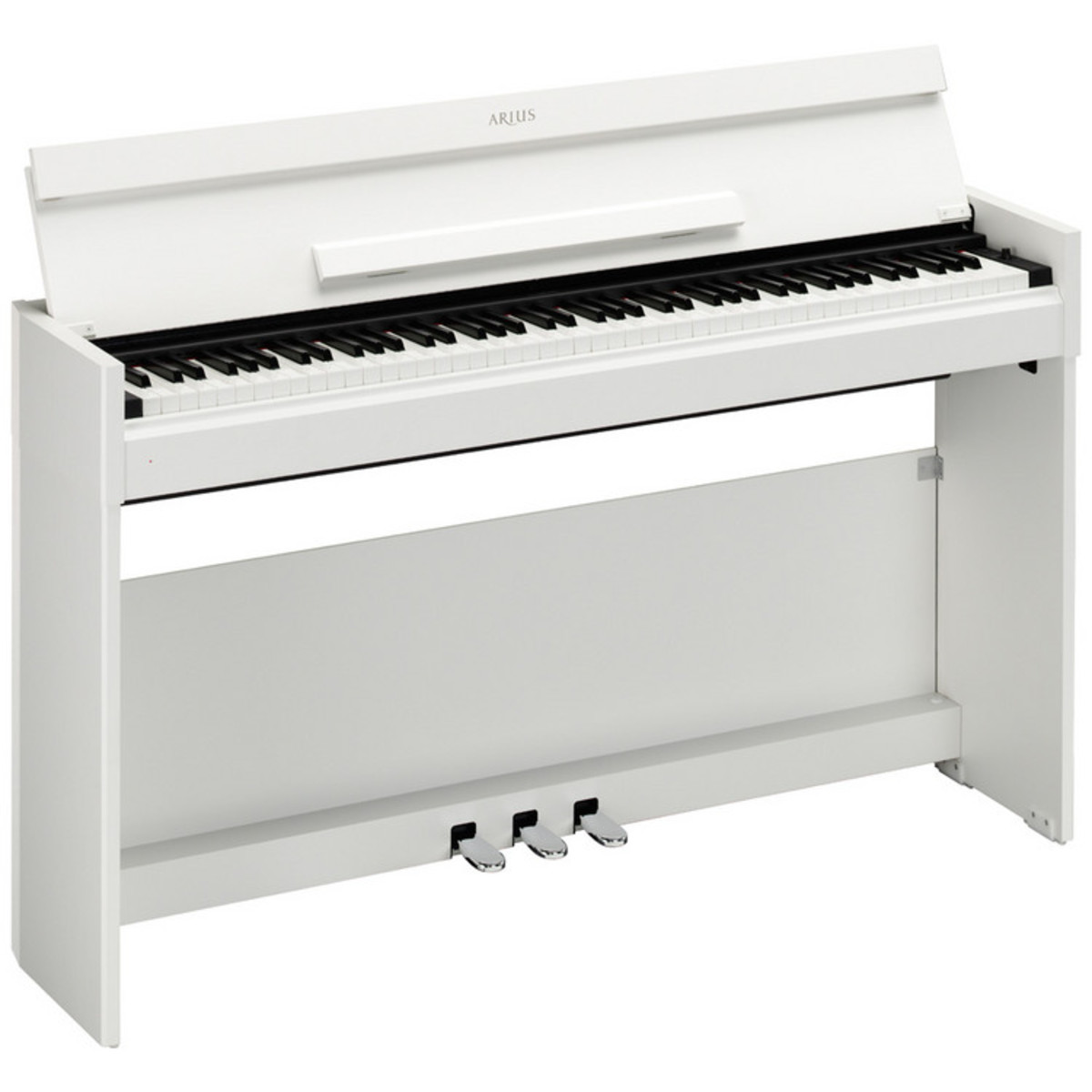 Disc yamaha arius ydps51 digital piano white at for White yamaha piano
