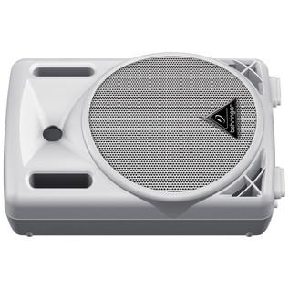 Behringer B208D-WH Eurolive Active PA Speaker, White (Floor)