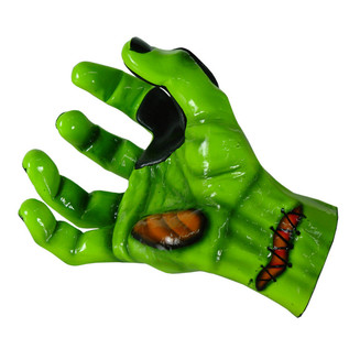 Grip Studios Air Brushed Custom Guitar Hanger, UnDead Fred Right Hand Palm Detail