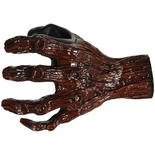 Grip Studios Hand Carved Guitar Hanger, Ent-Wistle, Left Hand