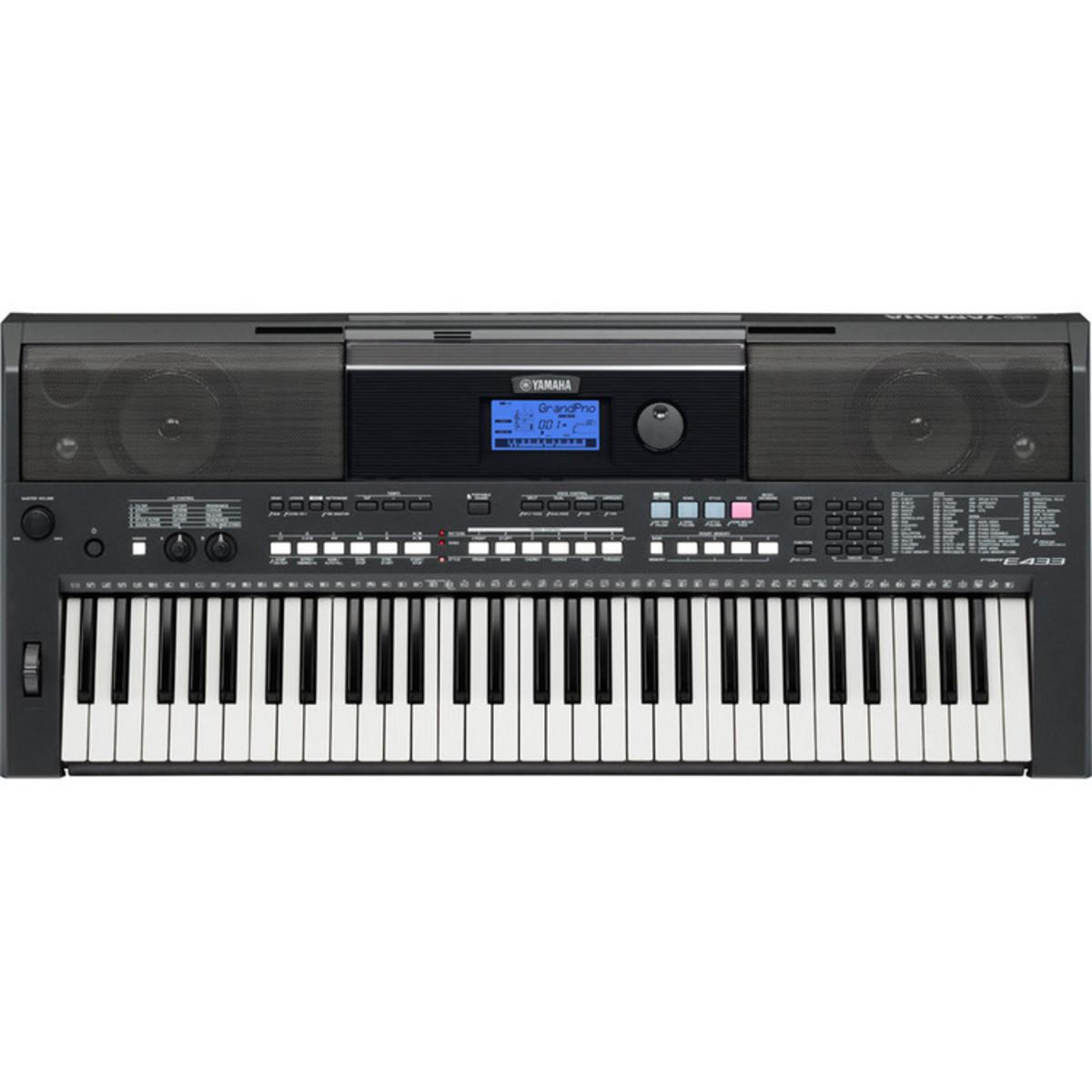 yamaha psr e433 portable keyboard ex demo at