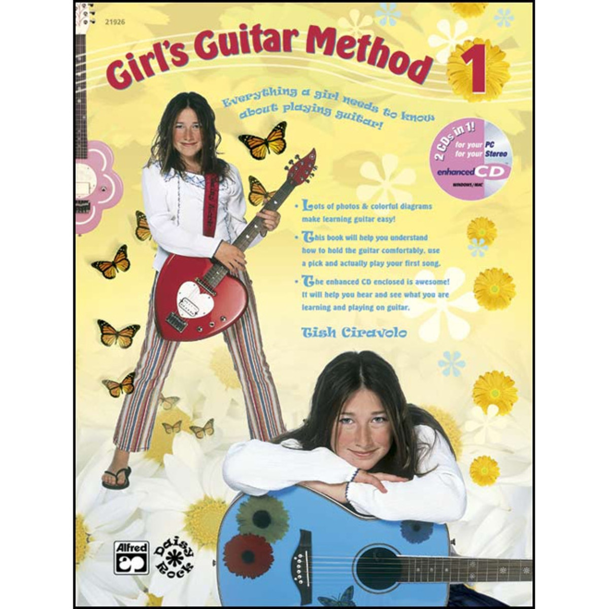 disc m thode de guitare de la jeune fille livre cd. Black Bedroom Furniture Sets. Home Design Ideas