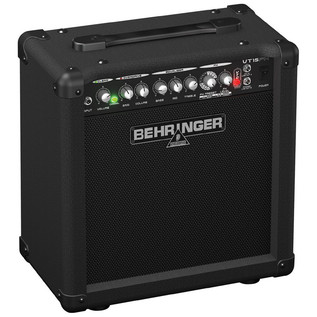 Behringer VT15FX Virtube 15W 2-Channel Guitar Amplifier with FX (Left)