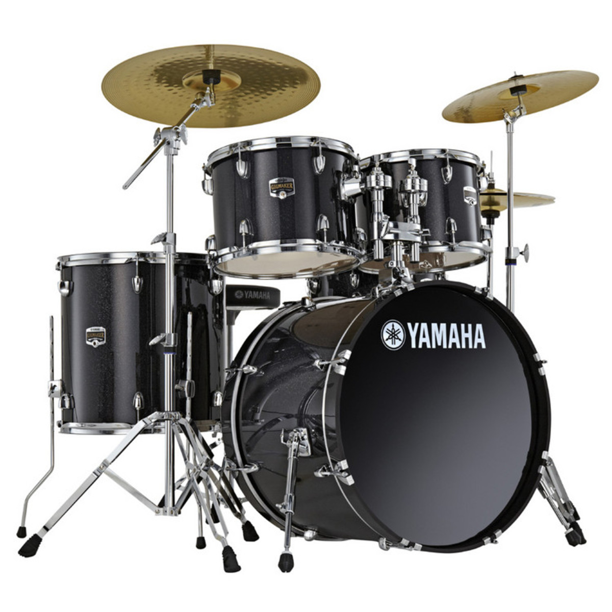 Yamaha Drum Kit : yamaha gigmaker drum kit 22 rock black glitter at ~ Vivirlamusica.com Haus und Dekorationen