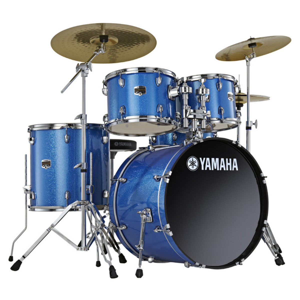Yamaha Gigmaker Kit De Bateria 20 Fusion Gelo Azul