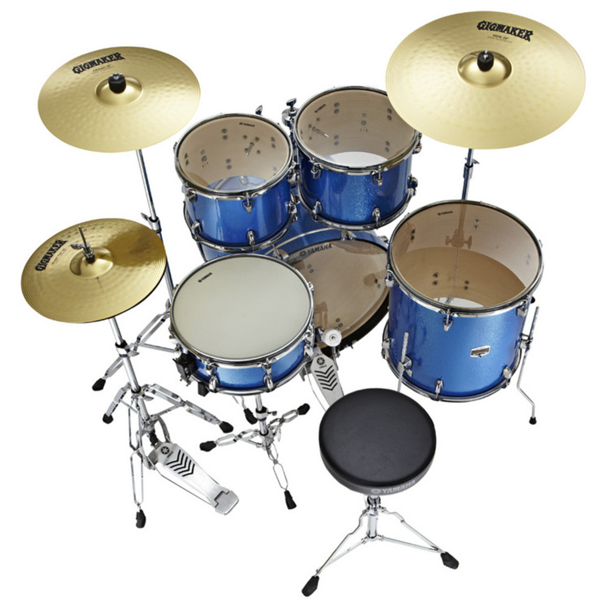 Yamaha Gigmaker Drum Kit With Cymbals
