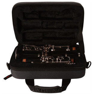 Gator Lightweight Clarinet Case Black (Open)