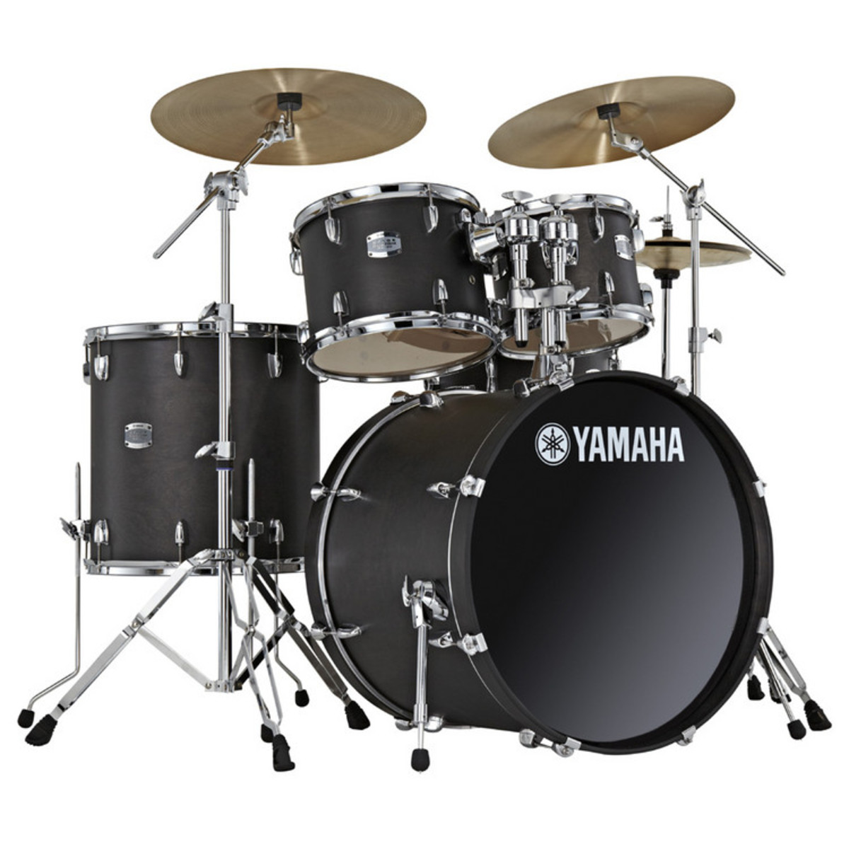 disc yamaha fase personalizzato 22 rock fusion kit nero. Black Bedroom Furniture Sets. Home Design Ideas