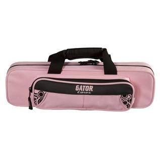 Gator Lightweight Flute Case Pink (Front)