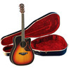 Yamaha A3R Electro Acoustic Guitar,    Vintage Hardcase Sunburst Inc