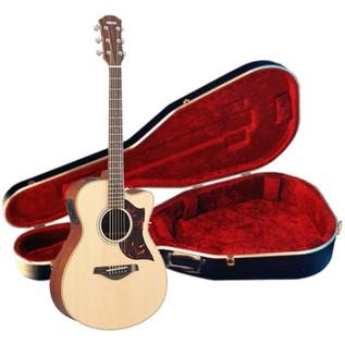 Yamaha AC1M Mahogany Electro Acoustic Guitar Concert, Natural