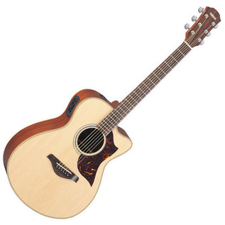 Yamaha AC1M Electro Acoustic Guitar, Natural Inc Hiscox Hardcase
