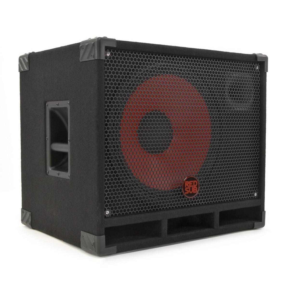 caisson pour haut parleur 1x15 redsub b115t. Black Bedroom Furniture Sets. Home Design Ideas