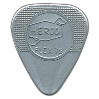 Jim Dunlop Flex75 Heavy, Silver, Players Pack of 12