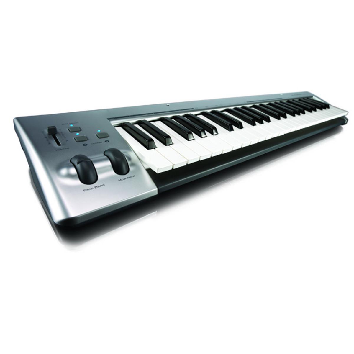 puis m audio keystudio 49 usb midi clavier. Black Bedroom Furniture Sets. Home Design Ideas