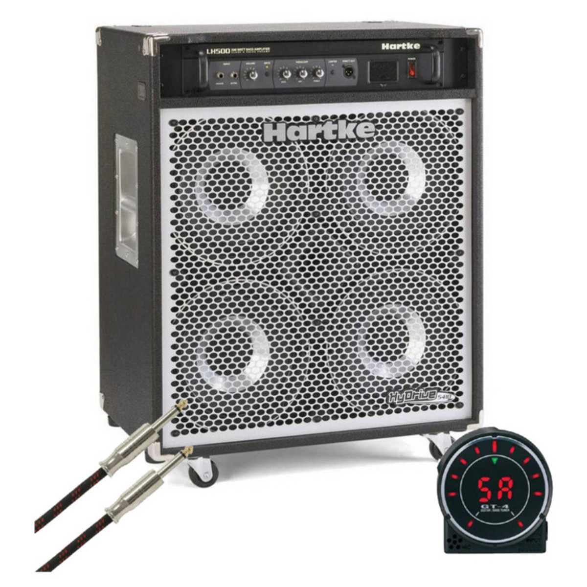 hartke 5410 hydrive bass combo amp free instrument cable and tuner at. Black Bedroom Furniture Sets. Home Design Ideas