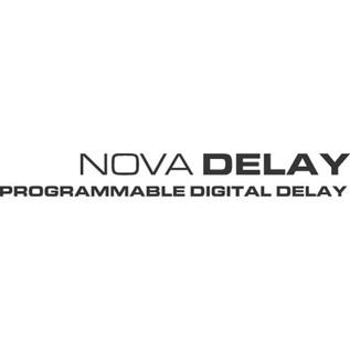 TC Electronic Nova Delay Guitar Effects Pedal Logo