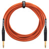 Orange Cable de Instrumento de 6m, Nylon Naranja