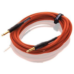 Orange 20 ft Instrument Cable, Woven (2)