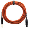 Orange 20 ft mikrofon Jack/XLR Cable, Orange Woven