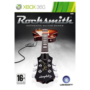 Ubisoft Rocksmith + Black Knight CX-13 Guitar, Black Xbox Package