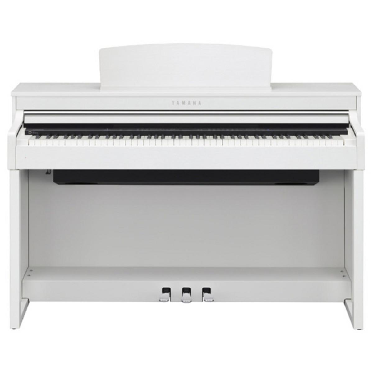 disc piano yamaha num rique clavinova clp470 blanc. Black Bedroom Furniture Sets. Home Design Ideas