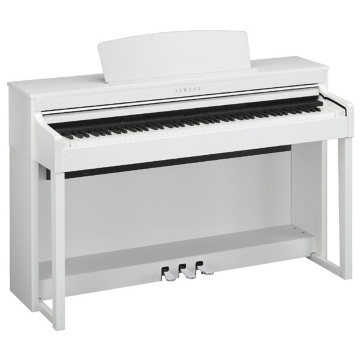 disc yamaha clavinova clp470 digital piano white at. Black Bedroom Furniture Sets. Home Design Ideas