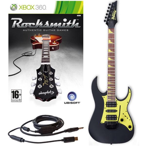 Ubisoft Rocksmith + Ibanez GRG150DX Guitar, Black Xbox Package
