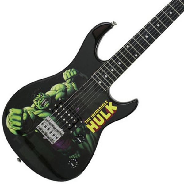 Ubisoft Rocksmith + MARVEL Hulk 3/4 Guitar Xbox Package