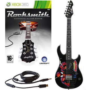 Ubisoft Rocksmith + MARVEL Spider Man 3/4 Guitar Xbox Package