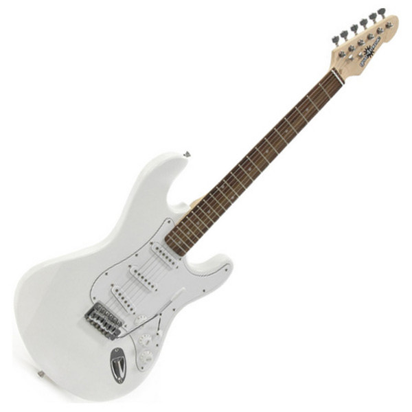 Ubisoft Rocksmith + Electric-ST Guitar, White PS3 Package