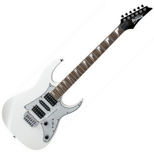 Ubisoft Rocksmith + Ibanez GRG150DX Guitar, White PS3 Package