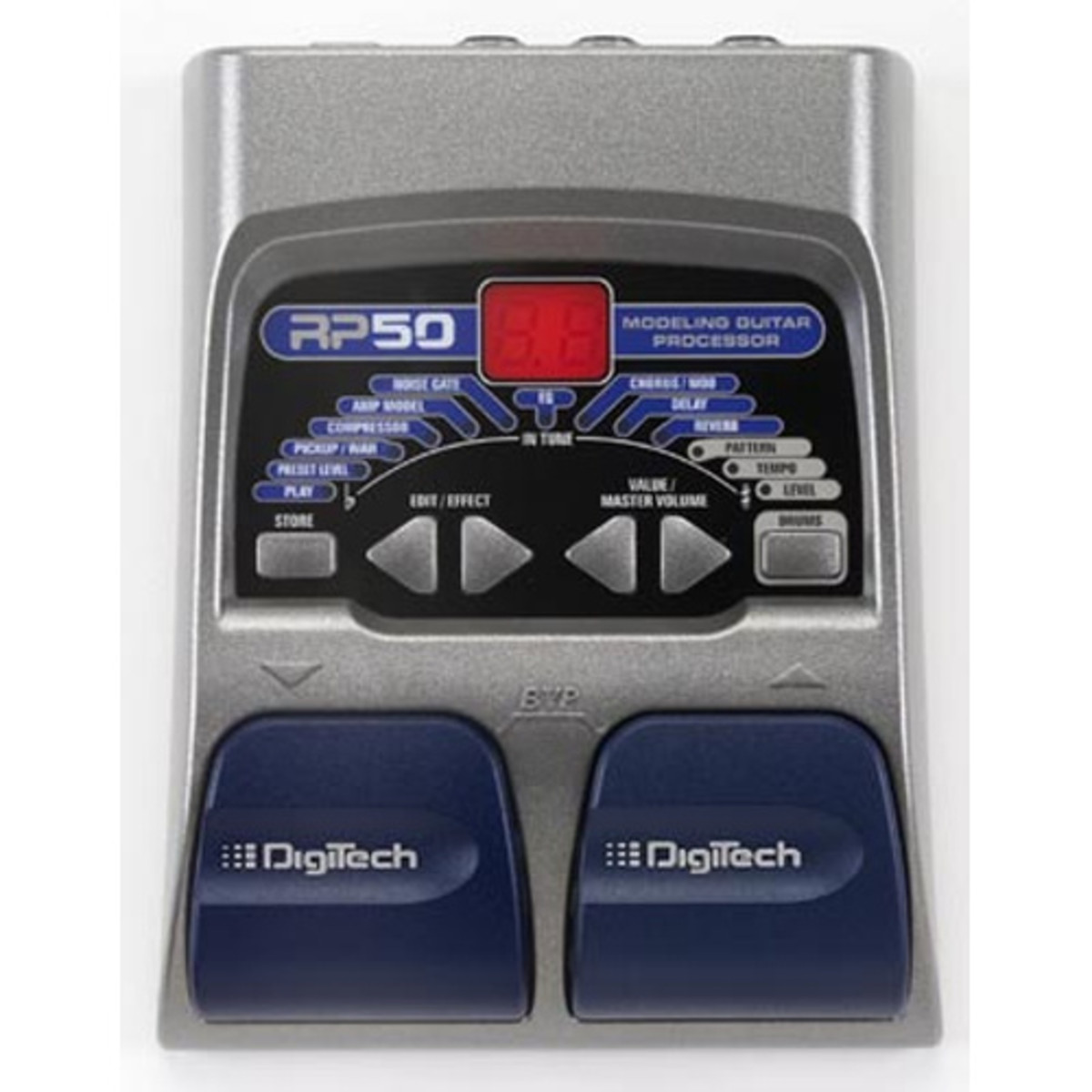 how to turn on digitech rp50