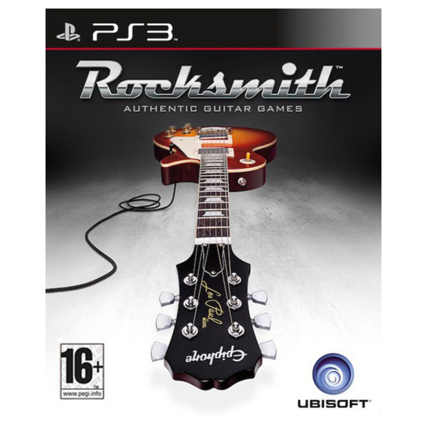 Ubisoft Rocksmith + MARVEL Iron Man 3/4 Guitar PS3 Package