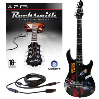 Ubisoft Rocksmith + MARVEL Thor 3/4 Guitar PS3 Package