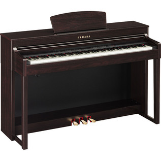 Yamaha Clavinova CLP-430R, Rosewood with Bench and Free Headphones