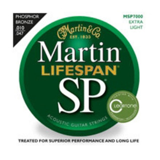 Martin Lifespan Phosphor Bronze Extra Light Acoustic Strings, 010-047