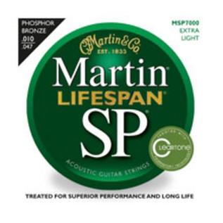 Martin Lifespan Phosphor Bronze Extra Light Acoustic Strings, 010-047