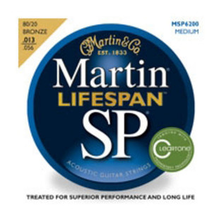 Martin Lifespan Phosphor Bronze Medium Acoustic Strings, 013 -056