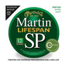 Martin Lifespan Phosphor Bronze Ex-Light Strings, 12-String, 010-047