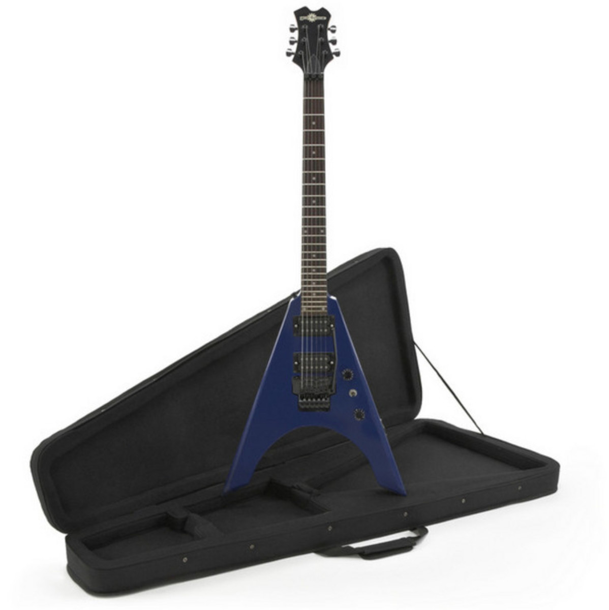 rocksmith xbox 360 houston electric guitar blue at. Black Bedroom Furniture Sets. Home Design Ideas