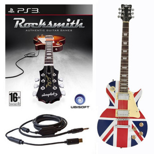 Ubisoft Rocksmith + Electric-GB Guitar PS3 Package